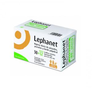 Lephanet  Igiene Delle Palpebre E Ciglia 30+12 Salviettes