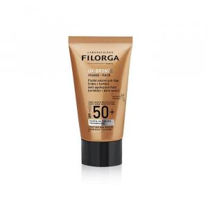 Filorga Uv Bronze Face Spf50+ Fluido Solare Anti Età 40ml