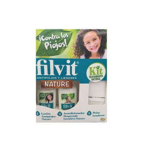 Filvit Nature Anti Pidocchi Lozione 125ml Set 2 Parti 2018