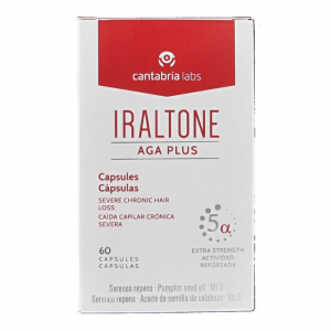 Iraltone AGA Severe Chronic Hair Loss 60 Capsules