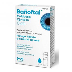 Bañoftal Dry Eye Multidose 10ml