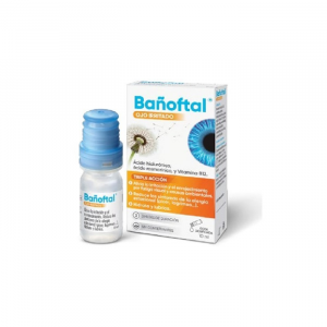 Bañoftal Eye Irritated Triple Action 10ml