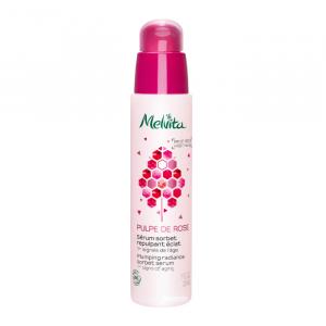 Melvita Pulpe De Rose Plumping Radiance Sorbet Serum 30ml