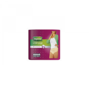 Depend Pants Women Comfort-Protect Size L 9 Units
