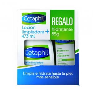 Lozione Detergente Cetaphil 473ml + Regalo Idratante 85g