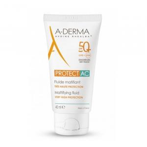 A-Derma Protect AC Fluido Opacizzante Spf50 + 40ml