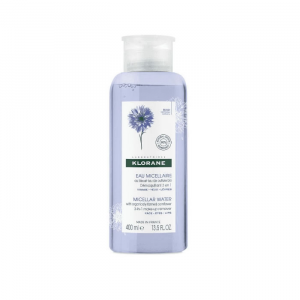 Klorane Micellar Water Cornflower Make-up Remover 3 In 1 400ml