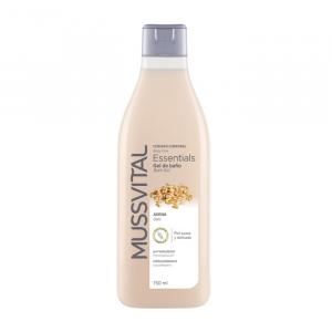 Mussvital Essentials Gel Doccia Avena 750ml