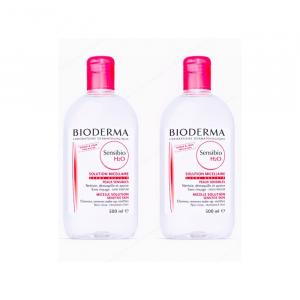 Bioderma Sensibio H2O Make Up Removing Micelle Solution 2x500ml