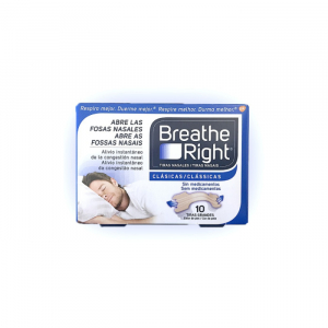 Breathe Right Nasal Strips Large Size 10 Units