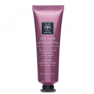 Apivita Gentle Cleansing Face Mask With Pink Clay 50ml