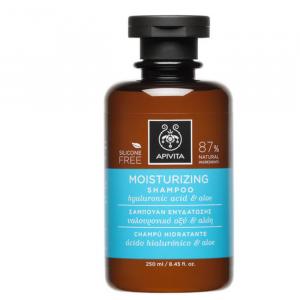Apivita Moisturizing Shampoo With Hyaluronic Acid And Aloe 250ml