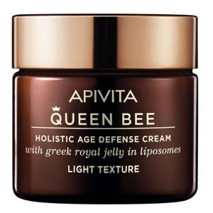Apivita Queen Bee Holistic Age Defense Cream Light Texture 50ml