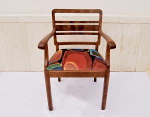 Poltroncina vintage in legno