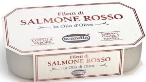 Scandia Filetti di Salmone Rosso GR.120