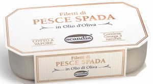 Scandia Filetti di Pesce Spada GR.120