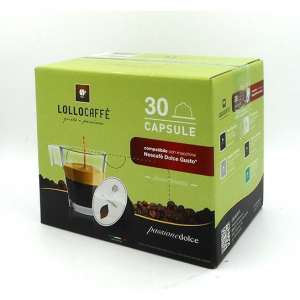 30 CAPSULE DOLCE GUSTO LOLLO CAFFE' CLASSICO