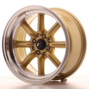 Cerchi in lega  JAPAN RACING  JR19  16''  Width 8   PCD Custom  ET -20  CB 73,1    Gold