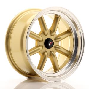 Cerchi in lega  JAPAN RACING  JR19  16''  Width 8   PCD Custom  ET Custom  CB 74,1    Gold