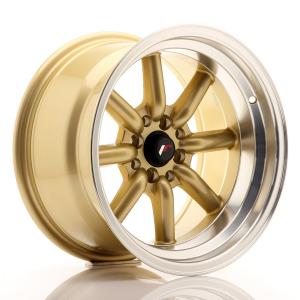 Cerchi in lega  JAPAN RACING  JR19  16''  Width 9   PCD Custom  ET -15  CB 73,1    Gold
