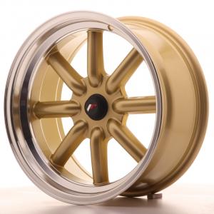 Cerchi in lega  JAPAN RACING  JR19  17''  Width 8   PCD Custom  ET Custom  CB 74,1    Gold