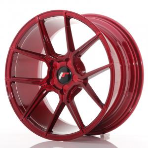Cerchi in lega  JAPAN RACING  JR30  20''  Width 8,5   PCD Custom  ET Custom  CB 74,1    Red