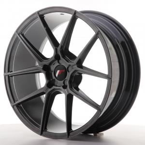Cerchi in lega  JAPAN RACING  JR30  20''  Width 8,5   PCD Custom  ET Custom  CB 74,1    Hiper Black