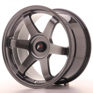 Cerchi in lega  JAPAN RACING  JR3  18''  Width 9,5   PCD Custom  ET Custom  CB 74,1    Hiper Black