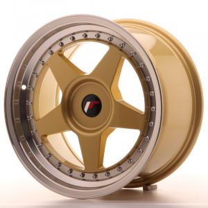 Cerchi in lega  JAPAN RACING  JR6  17''  Width 9   PCD Custom  ET Custom  CB 74,1    Gold