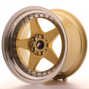 Cerchi in lega  JAPAN RACING  JR6  18''  Width 10,5   PCD Custom  ET 25  CB 74,1    Gold