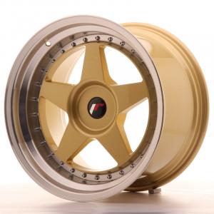 Cerchi in lega  JAPAN RACING  JR6  18''  Width 10,5   PCD Custom  ET Custom  CB 74,1    Gold