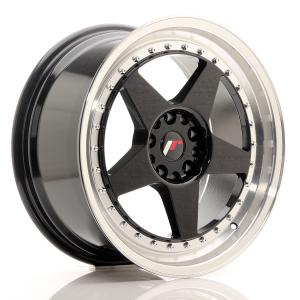 Cerchi in lega  JAPAN RACING  JR6  18''  Width 8,5   PCD Custom  ET 22  CB 74,1    Black