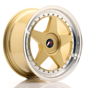 Cerchi in lega  JAPAN RACING  JR6  18''  Width 8,5   PCD Custom  ET Custom  CB 74,1    Gold