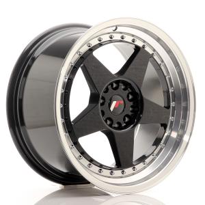 Cerchi in lega  JAPAN RACING  JR6  18''  Width 9,5   PCD Custom  ET 22  CB 74,1    Black