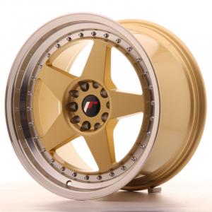 Cerchi in lega  JAPAN RACING  JR6  18''  Width 9,5   PCD Custom  ET 22  CB 74,1    Gold