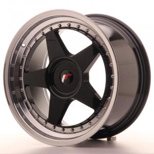 Cerchi in lega  JAPAN RACING  JR6  18''  Width 9,5   PCD Custom  ET Custom  CB 74,1    Black