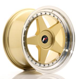 Cerchi in lega  JAPAN RACING  JR6  18''  Width 9,5   PCD Custom  ET Custom  CB 74,1    Gold