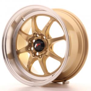 Cerchi in lega  JAPAN RACING  TFII  15''  Width 7,5   PCD Custom  ET 30  CB 73,1    Gold
