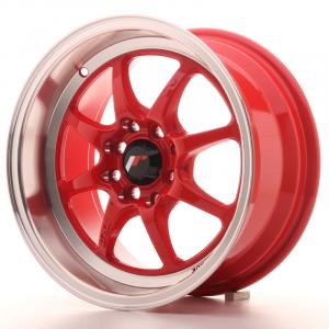 Cerchi in lega  JAPAN RACING  TFII  15''  Width 7,5   PCD Custom  ET 30  CB 73,1    Red
