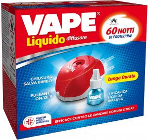 VAPE Diffusore + Ricarica Liquida 60 notti