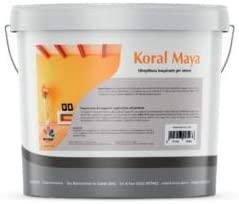 Koral Maya idro pittura traspirante bianca per interni 5lt