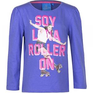 Disney -  Maglia a Manica Lunga - Ragazza Purple 6 Anni