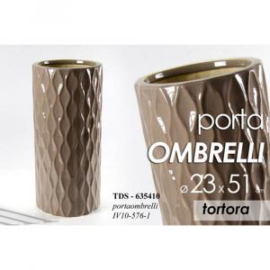 Portaombrelli in Ceramica Tortora