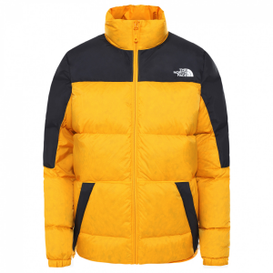 Giacca The North Face Piumino W 700 Down Jacket Yellow