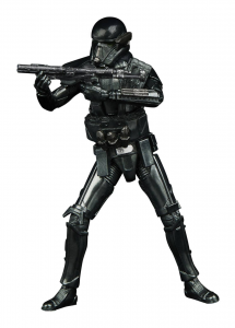 Star Wars -  The Mandalorian Vintage Collection Carbonized Action Figure: IMPERIAL DEATH TROOPER by Hasbro