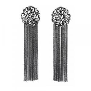 Orecchini Maria Luisa pure elegance argento e lavorazione rinascimentale