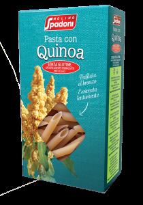 Spadoni Penne Rigate con Quinoa Senza Glutine GR.500