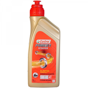 OLIO MOTORE CASTROL POWER 1 SCOOTER 5W-40 4T 1L