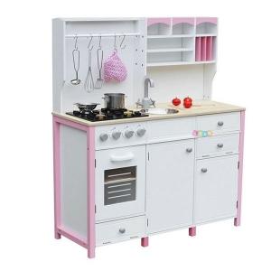 Cucina per bambini in legno Alice con forno e accessori