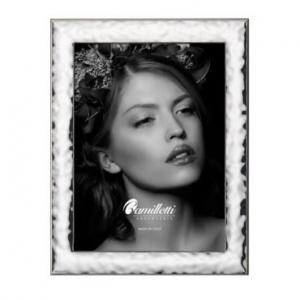 porta foto in bilaminato d'argento cm 13-18